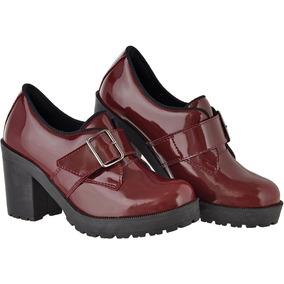 cf3e2b0cc2 Salto Alto Vermelho Feminino - Sapatos Sociais e Mocassins no ...