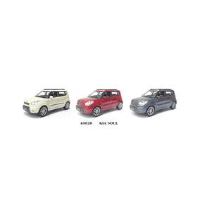 Kia- Soul Miniatur Escala 1/32 Kit Com 6 Pçs Colecíonável.