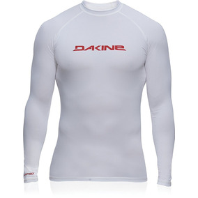 Playera Rashguard Dakine Surf Lycra Acuatica Blanca 50+ Fps 01e0f937b17