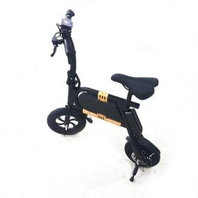 Bicicleta Elétrica 250w Dobravel Preta Ydtech 82528 Portatil