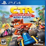 Crash Team Racing Nitro-fueled Digital Ps4 Primario Garantia