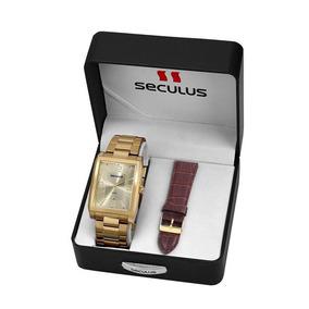 8746d2fde55 Pulseiras Para Relogios Seculus Masculino Em Aço - Relógios no ...