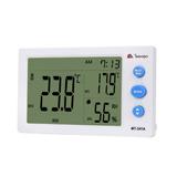 d75875218d9 Termômetro Digital Interior Exterior Sensor Externo Relógio no ...