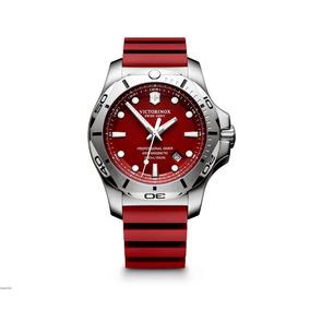 Relógio Victorinox Inox Professional Diver Vermelho 241735
