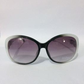 c61ea4c80ec9e Óculos De Sol Feminino Grande Armação Branca Proteção Uv