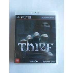 Thief Ps3 Mídia Física Lacrado Conteudo Adcional
