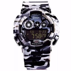 Relógio Digital Corrida Masculino Esportivo A Prova D