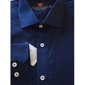 0e146c78e74ef Camisa Social Via Veneto (oiginal) - Camisa Social Manga Longa ...