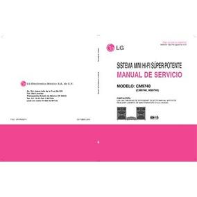Esquema Som Lg Cm9740 Mini Hi-fi System