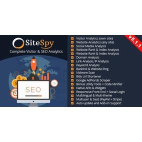 Sitespy V5.1.1 Ferramenta Seo Completa 2019 Exclusivo
