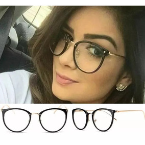 Óculos Feminino Armação Grau Geek Quadrado Vintage Cores Dio 6026345223