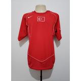 Camisa Futebol Oficial Seleção Turquia 2004 Home Nike Tam M a664eccfd0d8d