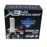 Kit Focos Led X3 Philips 35w H1 H3 H4 H7 H11 H13 9004 9007