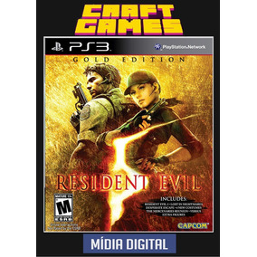 Resident Evil 5 Gold Edition Ps3 Psn Digital Game