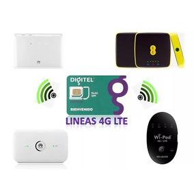 Lineas Digitel Multi-sim Lte/3g Para Modem Bam/multibam