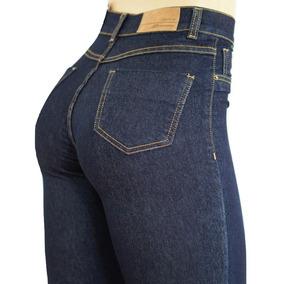 204d647d5 Calça Sawary Jeans Cintura Alta Hot Pants Com Elastano