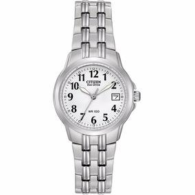Reloj Citizen Eco-drive Original Para Dama Ew1540-54a