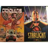 Mark Millar Starlight + Crononautas Lote 2 Encadernados Novo
