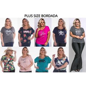 Kit 10 Blusas Plus Size Feminina Atacado Barata Da Fabrica