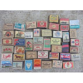 Colección Cajas De Fósforos Antiguas Desde 1940 Hasta 1990