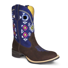 Bota Texana Femina Bico Redondo Silverado - Botas no Mercado Livre ... 5ef8b66d0b2