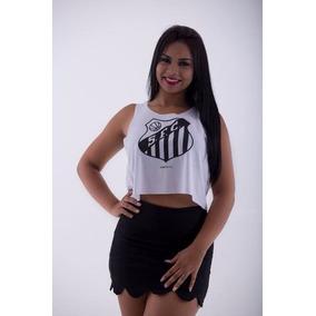 62a5e70969d4f Santos Fc - Camisetas e Blusas para Feminino no Mercado Livre Brasil