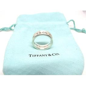 cef468dc340a Argolla Tiffany 1837  2890.00 Talla Num 7 Autentico Grabados