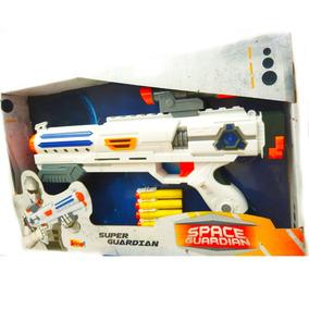 Arma De Brinquedo Infantil Estilo Nerf Som E Luz 0237