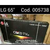 Lg .tv 65 Pulg.. 4k Wifi Entradas De Usb Control Inteligente