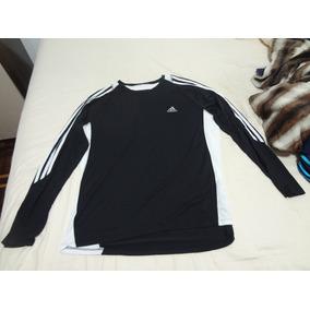Camiseta Manga Longa Adidas - Camisetas Manga Longa no Mercado Livre ... 87be8cbbed0a8