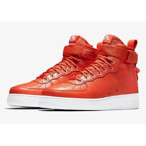 Nike Sf-af1 Mid team Orange Mayma Sneakers