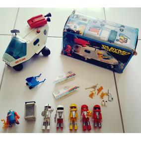 Lote Playmospace Playmobil Originais Trol Geobra Antigo