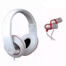 Kit Isound Dj Style Headphone E Earphone