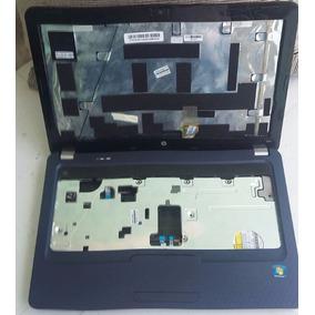 Carcaça Notebook Completa Hp G42 Azul