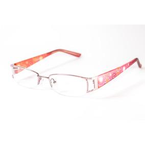 Armação Óculos Feminino Para Perto Pequeno Haste Detalhe ea84654b6d