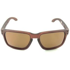 Óculos Oakley Holbrook Marrom Lente Polarizada De Sol - Óculos no ... f915b70ee5