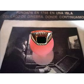 Anillo P/hombre En Oro 14kt C/8 Diamantes.