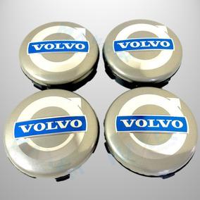 Calota Centro Volvo 64mm C30 Xc90 S80 S60 S40 V70 Xc60 Prata