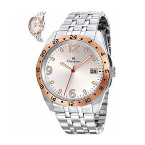 Relógio Champion Masculino Ca31220q Prata