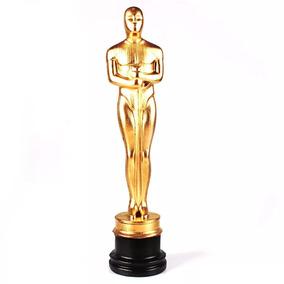 10 Estatuetas Oscar Dourada Hollywood Cinema 33 Cm