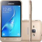 Smartphone Samsung Galaxy J1 2016 8gb 5mp Dourado (vitrine)