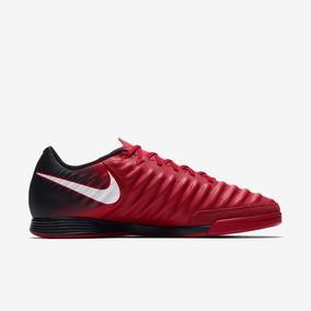 Nike Tiempo Futsal - Chuteiras Nike de Futsal para Adultos Vermelho ... 4911adb878af7