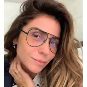 586f438b69d80 Oculos Aviador Lente Transparente Sem Grau De - Óculos no Mercado ...
