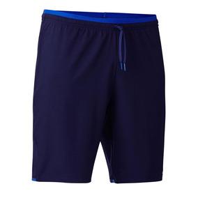 Pantalón Corto De Fútbol Para Adulto F500 Azul Marino 9b024be7137