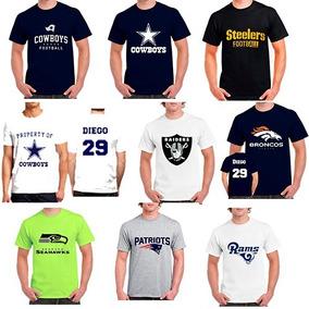 Playera Personalizada Nfl Broncos Cowboys Patriots Raideretc cc5a517e899