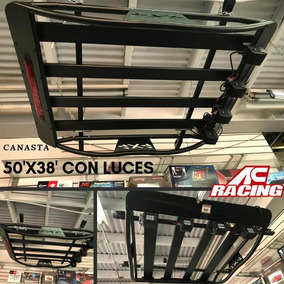 Canasta Con 4 Led Ac Racing 50 X 38 Nueva, Playsound