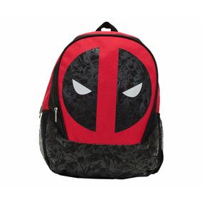 Deadpool Marvel Mochila Backpack Nueva