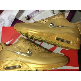 Nike Air Max 90 Liquid Gold Custom 2018 Nba Jordan Sb Dunk