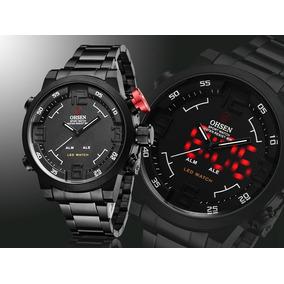 e1bd8941c07 Relógio Ohsen Sport Watch Fg0736 - Joias e Relógios no Mercado Livre ...