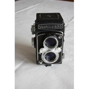 Camara Doble Lente Yashica 635 Formato 6x6 80mm F/3.5